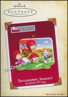 2005 Touchdown Snoopy, The Peanuts Gang
