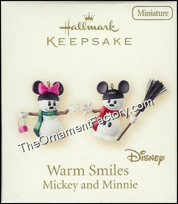 2007 Warm Smiles, Disney, Miniature