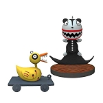 2019 Scary Teddy and Undead Duck, The Nightmare Before Christmas, LIMITED EDITION