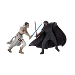 2019 Rey and Kylo Ren, Star Wars: Episode 9 Ornament Set