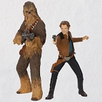 2018 Han Solo and Chewbacca, Solo: A Star Wars Story - DB