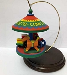 1978 Carrousel #1, Antique Toys