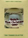 1980 Baby's First Christmas