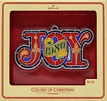 1980 Joy (Colors of Christmas)
