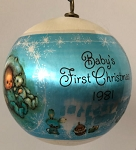 1981 Baby's First Christmas - Boy