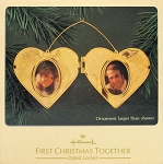1982 First Christmas Together - Locket