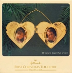 1983 First Christmas Together - Locket