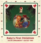 1985 Baby's First Christmas
