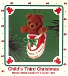 1985 Child's Third Christmas