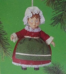 1985 Old-Fashioned Doll, Country Christmas Collection