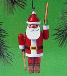 1985 Whirligig Santa, Country Christmas Collection