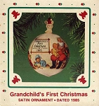 1985 Grandchild's First Christmas