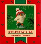 1985 Ice-Skating Owl