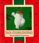 1985 Snow-Pitching Snowman