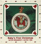 1986 Baby's First Christmas