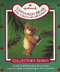 1986 Cinnamon Bear, Porcelain Bear #4