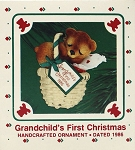 1986 Grandchild's First Christmas
