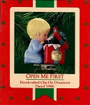 1986 Open Me First