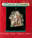 1988 Old English Village #1, Miniature