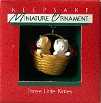 1988 Three Little Kitties, Miniature