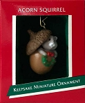 1989 Acorn Squirrel, Miniature