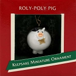 1989 Roly-Poly Pig, Miniature