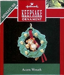 1990 Acorn Wreath, Miniature