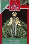 1990 Festive Angel, Miniature Tree Topper