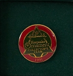 1991 Keepsake Ornament Club Pin