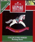 1991 Miniature Rocking Horse #4