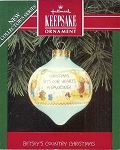 1992 Betsey's Country Christmas #1