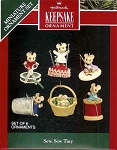 1992 Sew, Sew Tiny, Six Mice, Miniature