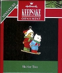 1992 Ski For Two, Miniature