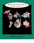 1993 Tiny Green Thumbs, Set of 6, Miniature