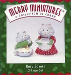 1996 Busy Bakers, Merry Miniatures