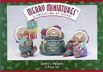 1996 Santa's Helpers, Merry Miniatures