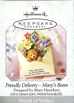 1999 Friendly Delivery, Mary's Bears