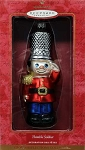 2000 Thimble Soldier, Blown Glass