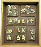 2003 Keepsake Ornament Gallery Collection, Club Ornament Set - RARE