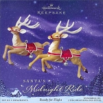 2005 Santa's Midnight Ride - Ready For Flight, RARE