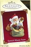 2005 Santa's Magic Sack, October Register to Win Repaint