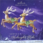 2005 Santa's Midnight Ride - Two For the Skies, RARE
