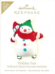 2009 Holiday Fun, Retail Associate Ornament, LIMITED QUANTITY