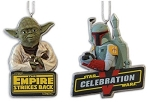 2010 Boba Fett and Yoda, The Empire Strikes Back 20th Anniversary, Star Wars - RARE
