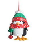 2013 Wiggly Giggly Penguin, Club Ornament