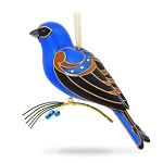 2017 Blue Grosbeak, Beauty of Birds, KOC EVENT ORNAMENT - RARE
