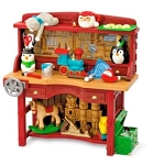 2017 Santa's Workbench, Repaint, Club Ornament