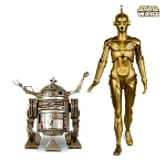 2019 Ralph McQuarrie C3PO and R2-D2, Star Wars Celebration - RARE