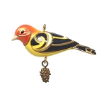 2020 Western Tanager, Beauty of Birds Miniature