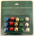 Miniature Glass Balls, Multi-colored